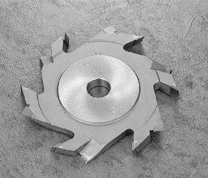 ラジアル溝突きカッター(横溝用)のボタン