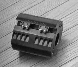 フローリング裏溝用 MSブロックのボタン