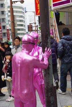 謎のピンクマン