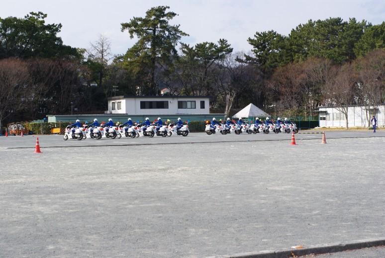 県警バイク隊