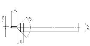 バリトールの寸法図